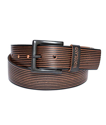 Woodland Men's Leather Belt