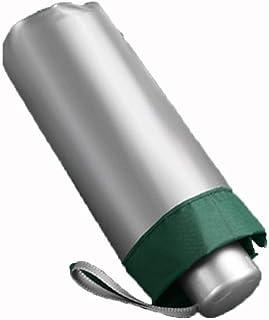Umbrella Windproof Umbrella Folding Sun UV Protection Sunshade Female Dual Purpose Mini Pocket Portable (Color : Green)