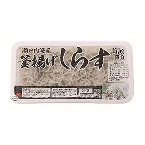 【冷凍】 ノースイ 釜揚げしらす 100g 瀬戸内海産 業務用 海鮮
