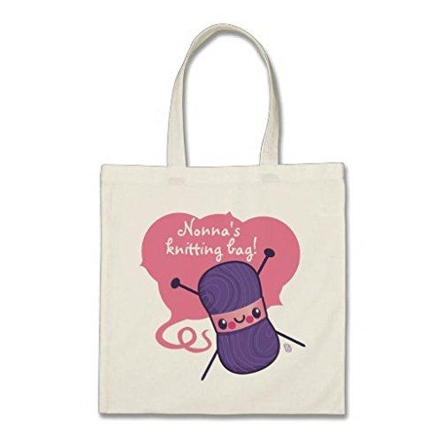 All We knit is love Budget - Bolsa de la compra para mujer