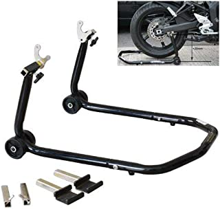 ALPHA MOTO All in One Front Or Rear Universal Sportbike Motorcycle Lift Stand Swingarm Spool Paddock Lift Fork Lift Fits for GSXR GIXXER 600 750 1000 Hayabusa CBR 600 900 1000 YZF R1 R6 ZX 6R 7R 9R