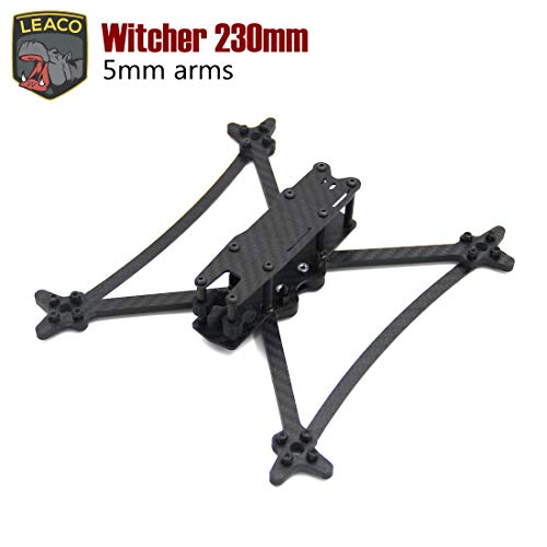 LEACO Witcher 5inch 230mm with 5mm Thickness Arm Freestyle Frame Quadcopter Frame kit Drone
