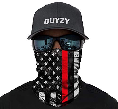 OUYZY Neck Gaiter Face Scarf Cover Mask Sun Bandanas