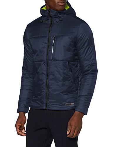 Superdry Herren Packaway Hoody Jacke, Blau (Deep Navy JKE), XL