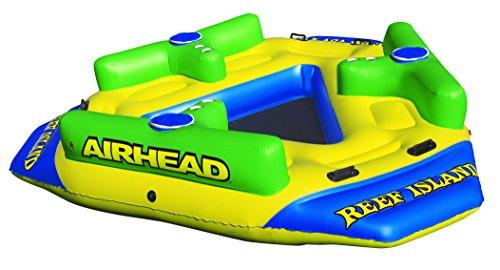 "Airhead REEF ISLAND, yellow, 135"" x 127"""