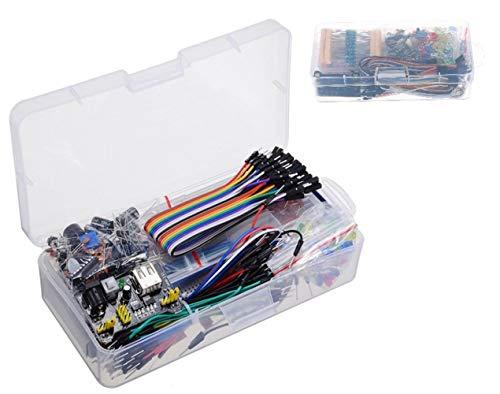 Componente Elettronico Starter Kit Breadboard LED Buzzer Resistor per STM32 TE715