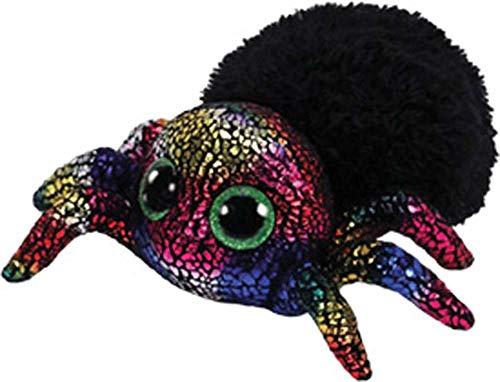 Ty TY36207 Beanie Boos Leggz-Araña Halloween 15 cm, color negro , color/modelo surtido