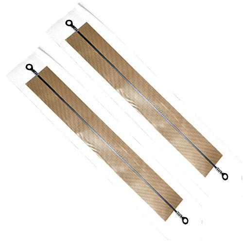 "2-Pack: 8"" inch Impulse Sealer Heating Element Service Spare Repair Parts Kit PFS-200 FS-200 PSF-200 PSF200 F-200"