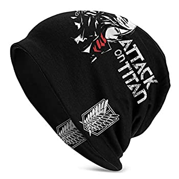 Attack On Titan Mikas-A Ackerman Anime Cosplay Beanie Cap UPF 50 Sweat Wicking Super Soft Lax Hats Adult Sun Hat for Outdoor Fitness Party