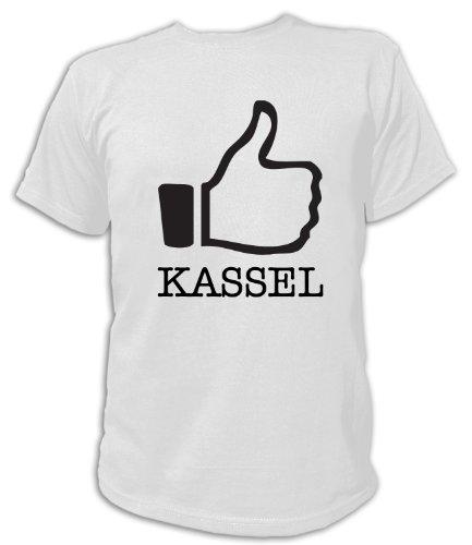 Artdiktat T-Shirt Like Kassel, Unisex, Grösse XXL, weiß