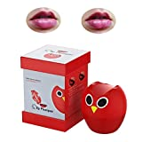 Lip Plumper Device,Lip Plumper enhancer,Sexy Owl Lip Enhancer Pump Beauty Silicone Enlarge Mouth Lips Enlargement Tools Plumping Bigger Lips Device (PInk)