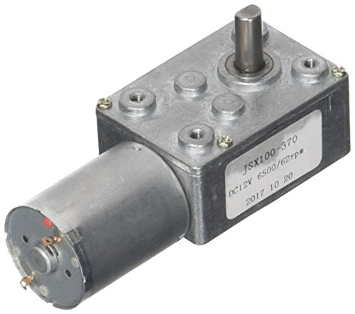 100 giri//min Scatola ingranaggi a riduzione di velocit/à a ingranaggi per motori a corrente alternata reversibile a 6 pezzi DC 6V con albero di uscita