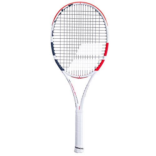 Babolat Pure Strike Tour Encordado: No 320G Raquetas De Tenis Raquetas De Competición Blanco - Rojo 1