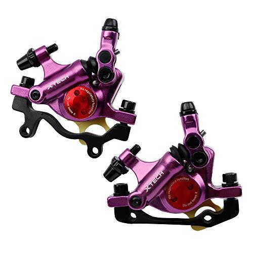 NYK Zoom - Pinzas de freno de disco hidráulico para bicicleta de...