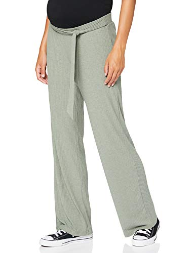 MAMALICIOUS Damen MLDARCI Jersey Pants A. Hose, Detail:Melange Sea Spray, S