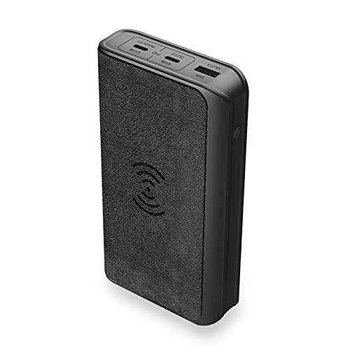 Cargador Portátil Power Bank 20000mah, PD 100W Fast Power Bank, QC 4.0 Power Bank Cargador Inalámbrica 10W [Carga Dos Portátiles Simultáneamente], USB C Batería Externa para iPhone, Android, etc