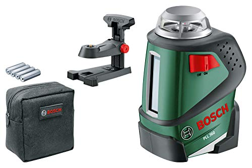 Bosch Home and Garden 0.603.663.000 Nivel Láser, 1.5 V, Negro, Verde