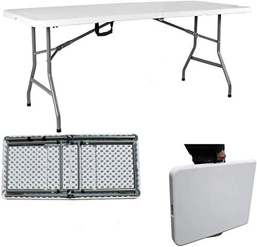 Mesa de camping Mesa de jardín plegable portátil para el servicio pesado...