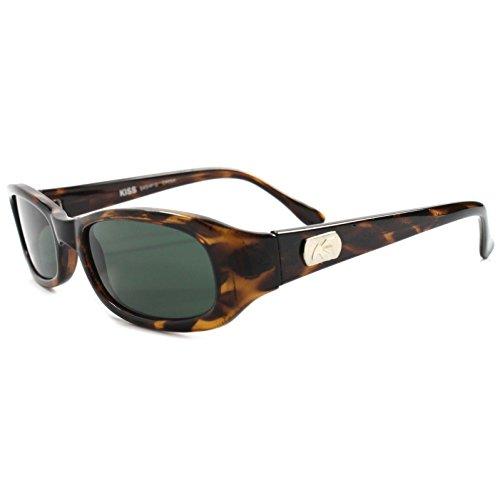 Vintage 80s 90s Indie Hip Fashion Black Rectangular Sunglasses