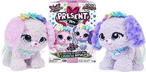 Present Pets, Fairy Puppy Interactive Plush Toy (Styles May Vary)