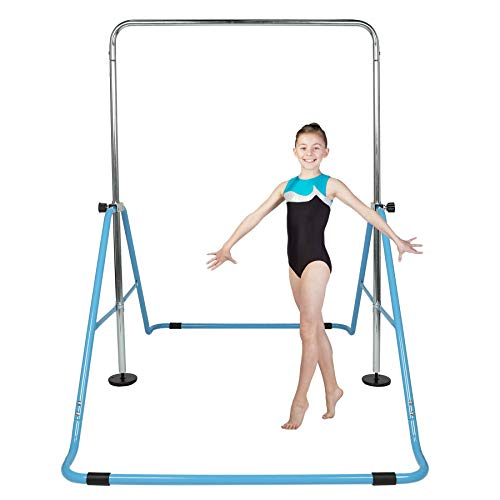 Z ZELUS Barres d'Entraînement de Gymnastique pour Enfants, Barre de Traction pour Enfant, Gymnastique Barre Horizontale, Barre Fitness