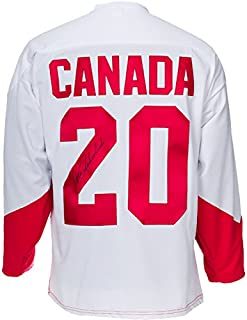 Peter Mahovlich Signed Team Canada 1972 Jersey