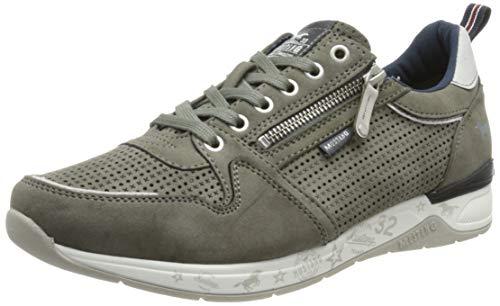 MUSTANG Herren 4164-302 Sneaker, grau, 43 EU