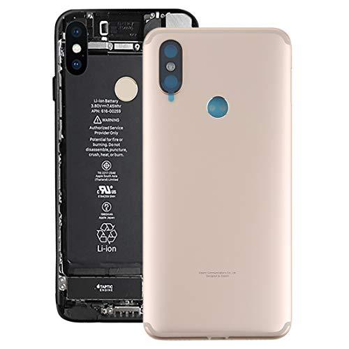 Dmtrab Contraportada reemplazar la Cubierta Posterior for Xiaomi Mi 6X / A2 (Negro) Contraportada (Color : Gold)
