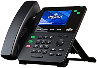 Digium D60 IP Phone 2-Line SIP with HD Voice, 4.3 Inch Color Display, Icon Keys (Renewed)