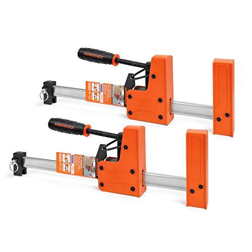 Jorgensen 12-inch Parallel Jaw Bar Clamp Set
