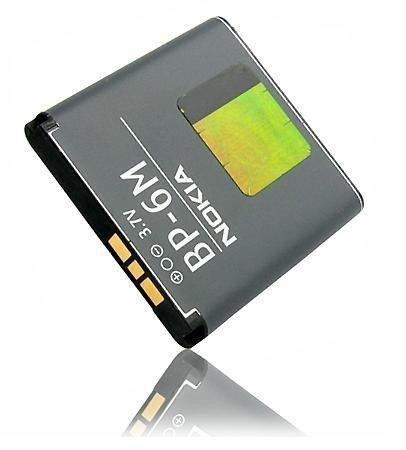 Batteria Originale Nokia BP-6M (1100 mAh - 3,7V) per Nokia 3250 XpressMusic, 6151, 6233, 6234, 6280, 6288, 9300, 9300i, N73, N73 Music Edition, N77, N93,.. Garantia: 12 mesi / Foneshop