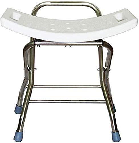 IAIZI - Taburete de ducha plegable con altura ajustable   Silla de ducha/baño para personas mayores con discapacidades o mujeres embarazadas   Silla de baño de cuidado de la salud
