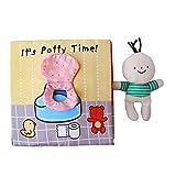Oyamihin Libro di Stoffa Puzzle per Bambini di Prima educazione 0-1-3 Anni I Bambini Illum...