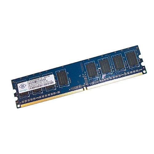 1GB RAM Nanya nt1gt64u88d0by-3C 240-Pin DIMM DDR2PC2–5300U 667mhz 2Rx8CL5