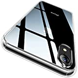 CASEKOO iPhone XR Case, Clear Protective [Anti-Yellowing]