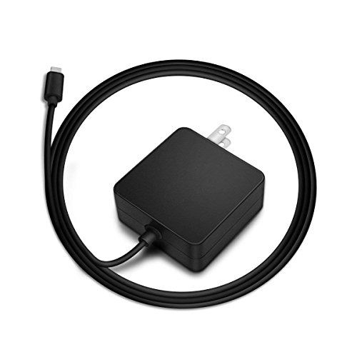 UL Listed USB-C Charger Fit for Razer Blade Stealth 13.3 Inches Blade Stealth 13 15 Asus Type C C302CA C302C C101PA C101P C213SA C213S C523NA C523N Q325UA UX370UA Laptop Power Adapter Supply Cord