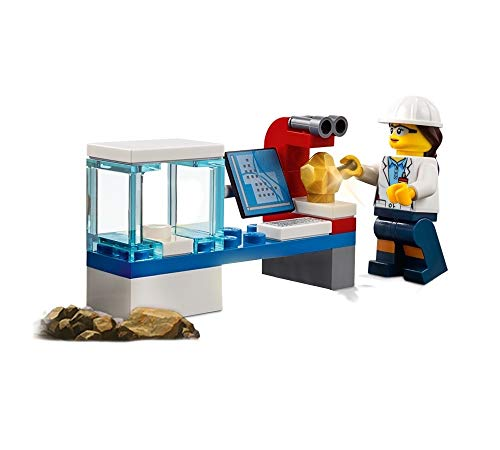 LEGO City Miner Minifigure - Female Scientist (with Analyzing lab Machine) 60186