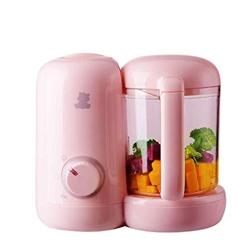 WJH9 Nahrungsergänzung Baby Kochmaschine, mit dämpfender und Mischmaschine, mit Schleuder Arc Messerkopf, Automatisches Ausschalten zu verhindern Dry Brennen