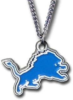 NFL Siskiyou Sports Fan Shop Detroit Lions Chain Necklace 22 inch Team Color