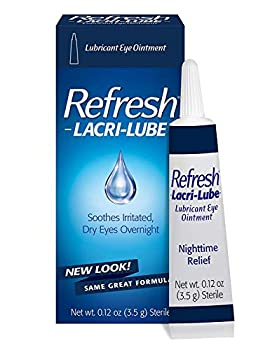 REFRESH LACRI-LUBE Lubricant Eye Ointment 3.50 g  Pack of 8