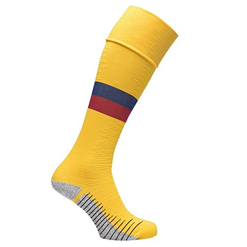 NIKE F.C. Barcelona 2019/20 Stadium Away Cycling Socks, Amarillo, M Unisex-Adult