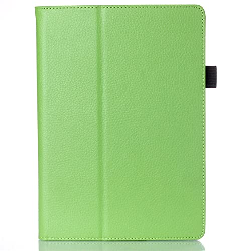 LIUCHEN Funda de tabletaFunda para Lenovo Tab 2 A10-30 Smart Case Funda con Soporte Funda para Lenovo Tab 2 A10-70 TB2-X30F TB2-X30L Cuero, Verde