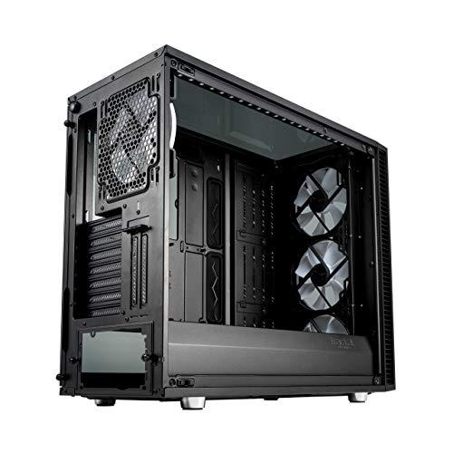 Fractal Design Define S2 Vision RGB- Mid Tower Custodia computer - Ottimizzato per flusso d'aria elevato e elaborazione silenziosa - Interno modulare - Pannello laterale a finestra - ARGB