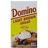 Domino Light Brown Sugar 1lb Pack of 2