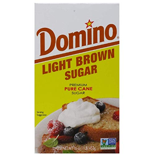 Domino Light Brown Sugar 1 Lb 2 Pack