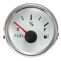 オートバイエンジンコンポーネント オートバイの車のトラックの燃料レベルゲージ&ラインセットのための9~32V 52mmの燃料レベルゲージメーターセンサーセンサーセンサー (Color : A)