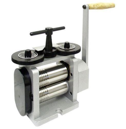 Mills 130 mm Manuelle Tablettenpresse, kleine Pressmaschine mit flachem quadratischem und halbrundem Blech zur Schmuckherstellung