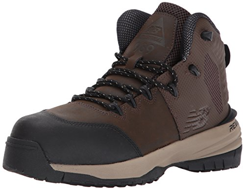 New Balance Men's Composite Toe 989 V1 Industrial Shoe, Brown/Brown, 12 XW US