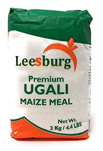Premium Ugali Maize Meal 2kg or 4.4 lbs from Kenya