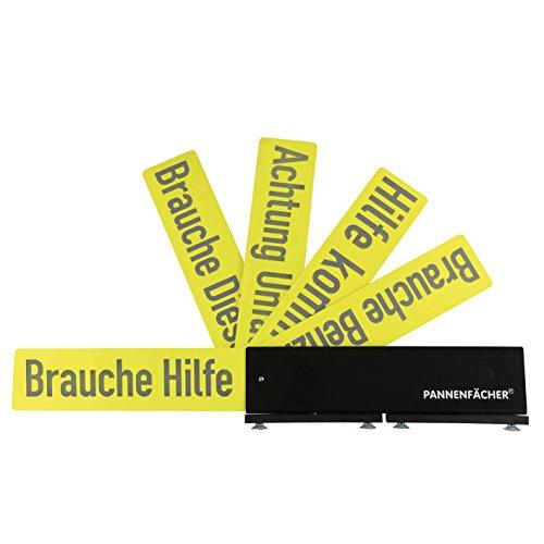 Pannenfächer 04671 Warnhinweis-Schild für Pannensituationen ( mit 5 verschiedenen...